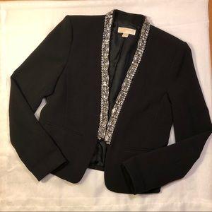 Micheal Kors Black sparkle blazer